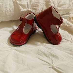 Taps by Kinder Baby Patent leather Mexican shoes